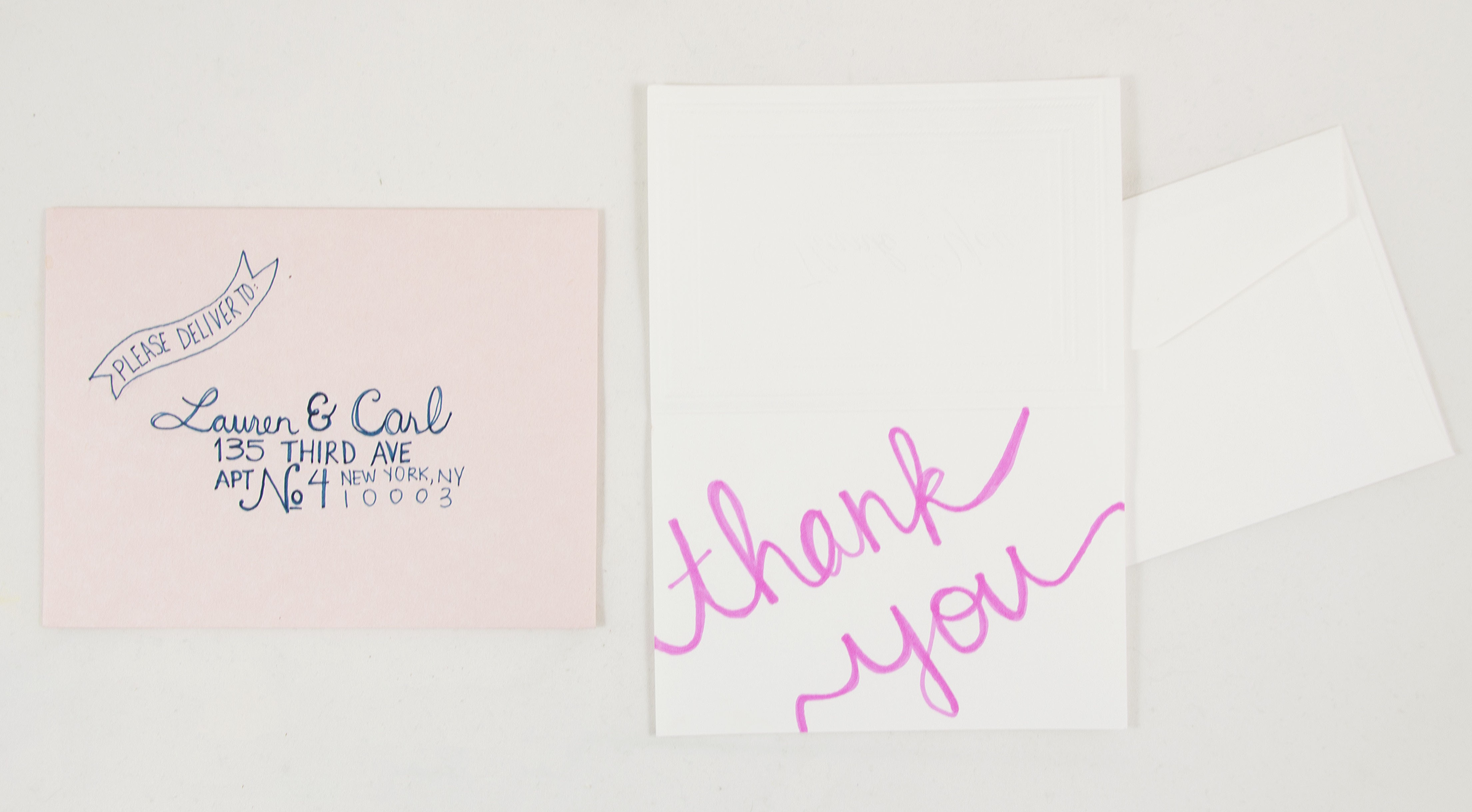invitations, thank you cards