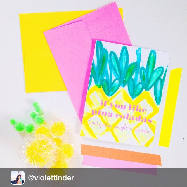I spy a JAM envelope! Thanks @violettinder ! #colors #cards #envelopes #envelope #officesupplies #awesome #fun #trends #color via @igrepost_app, ? I'm not much into health food, I am into champagne! ? ???