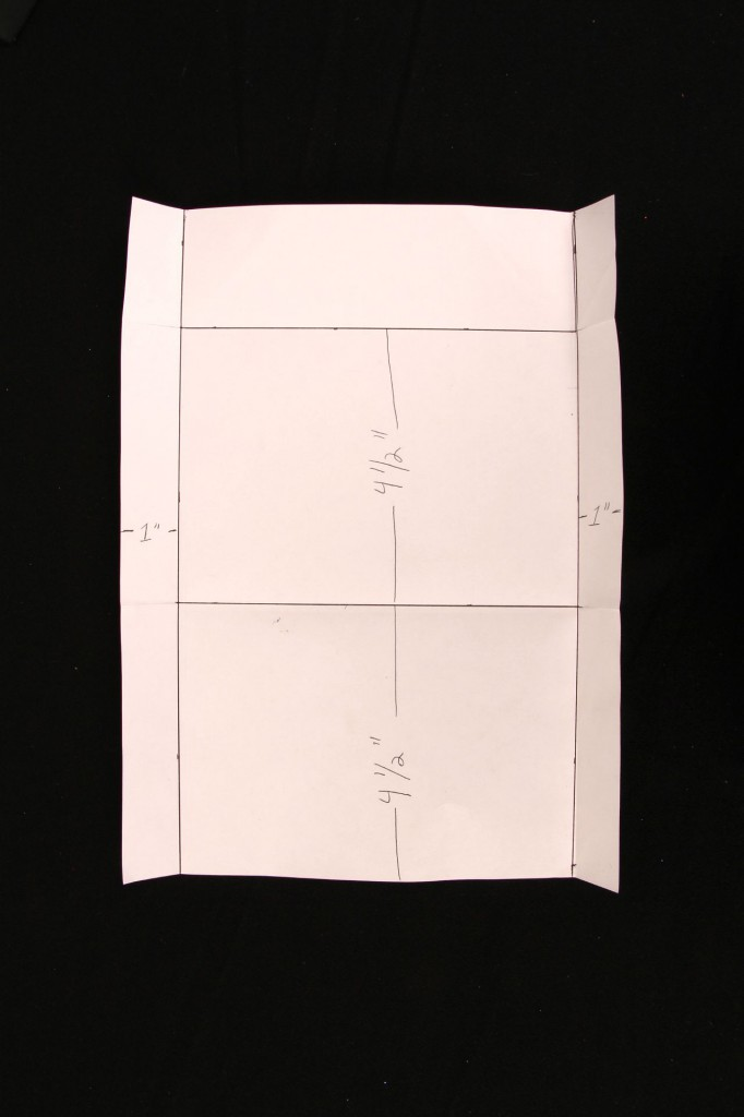 how to make a paper envelope for coke