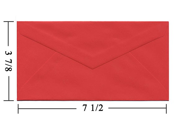 What Size is a Monarch Envelope and How to Use Them