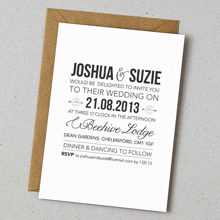 standard invitation sizes template gPDNG5P0