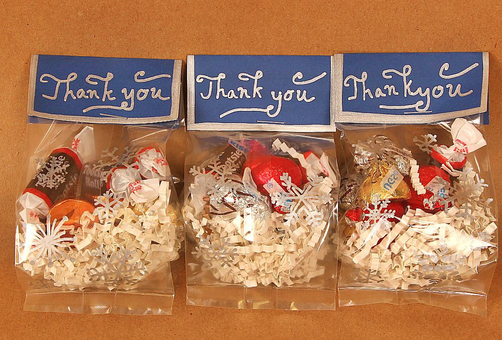 Goodie Bags Idea For Winter Snowflakes Candy Jam Blog