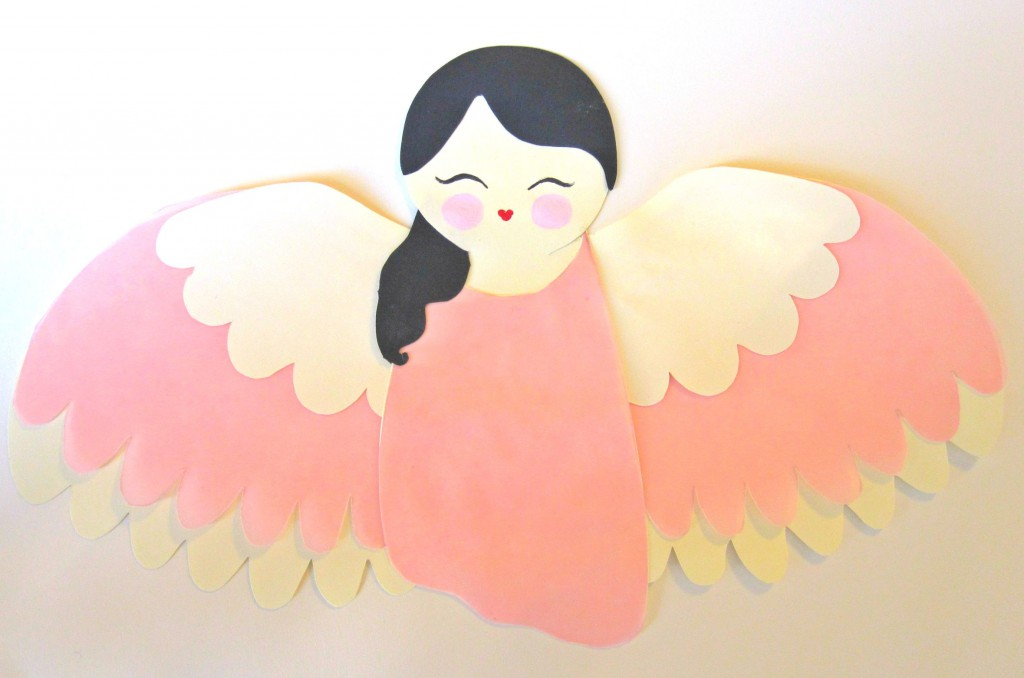 Create A Paper Angel Tree Topper