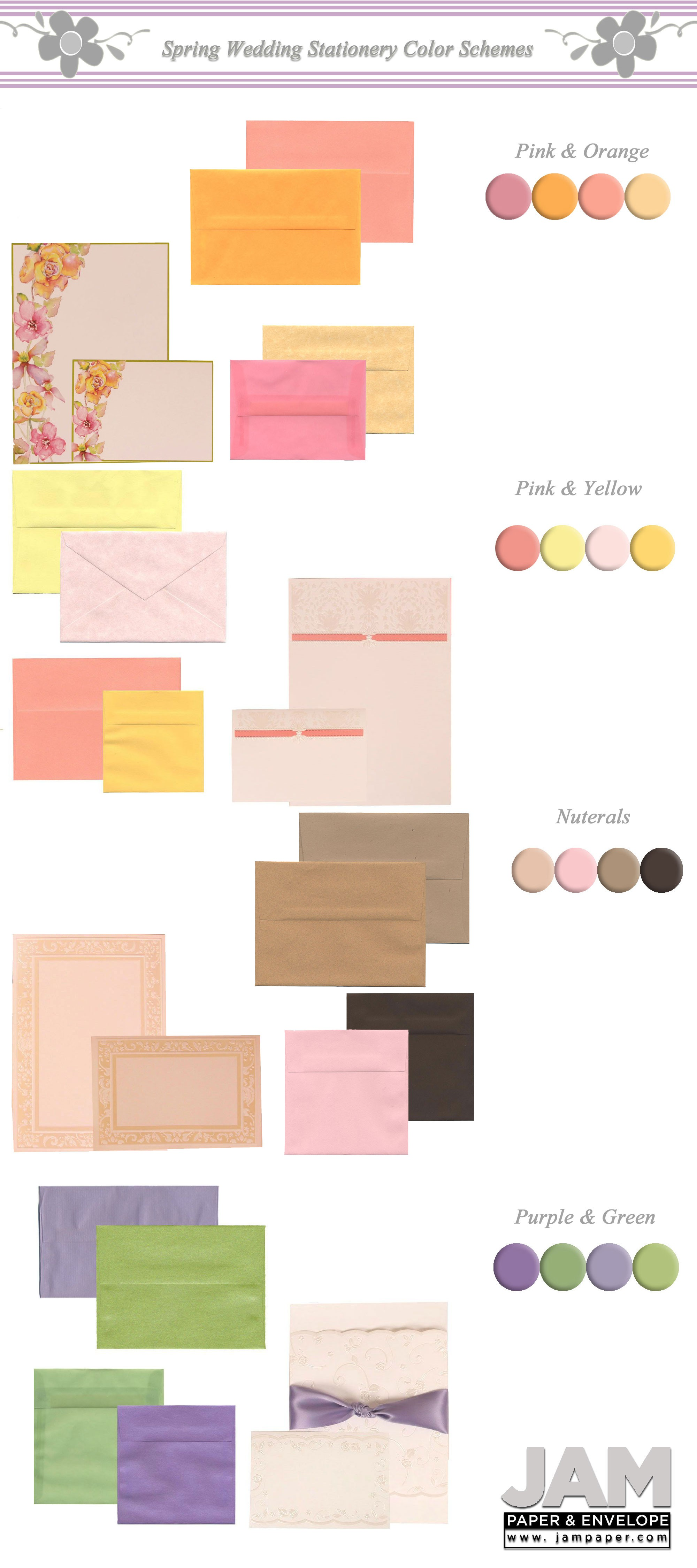 the best wedding colors for spring an invitation guide jam blog