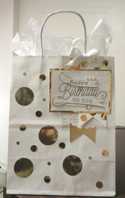 DIY Birthday Gift Bag Idea