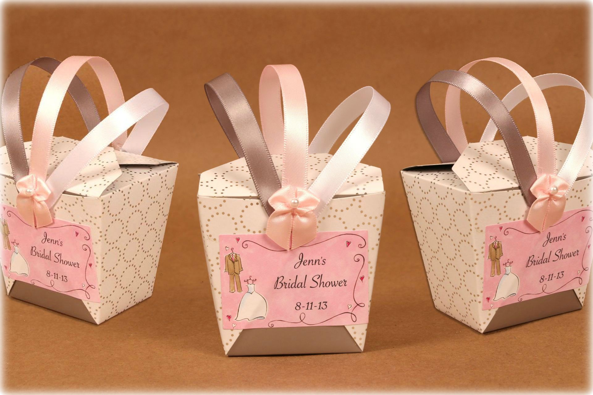 Bridal Shower Favor: Chinese Takeout Style Boxes