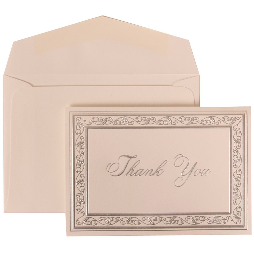 Wedding Thank You Card Etiquette