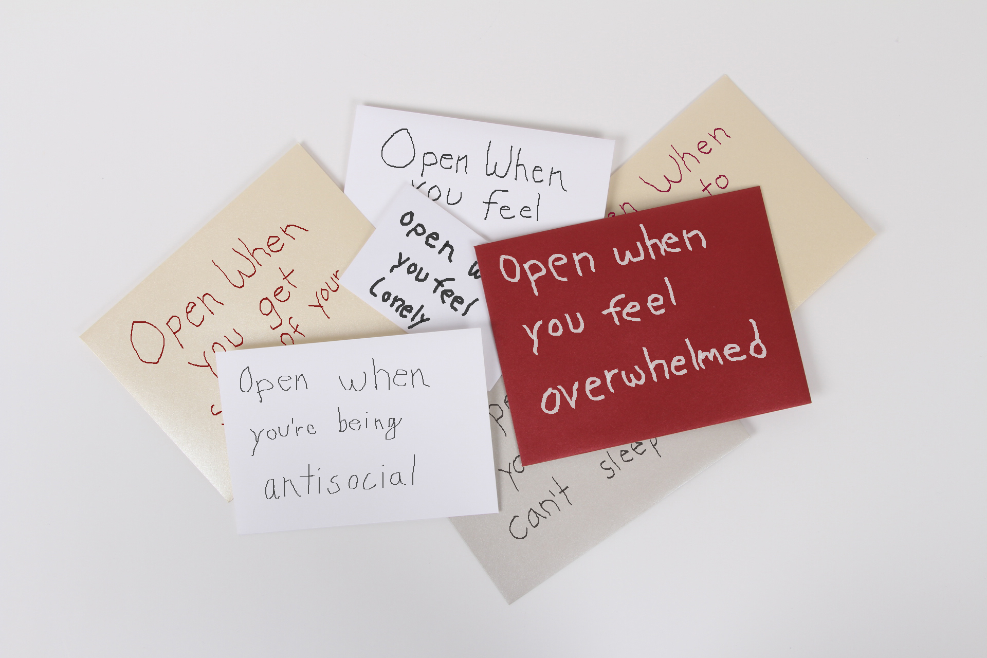 write yourself an  u0026quot open when u0026quot  letter