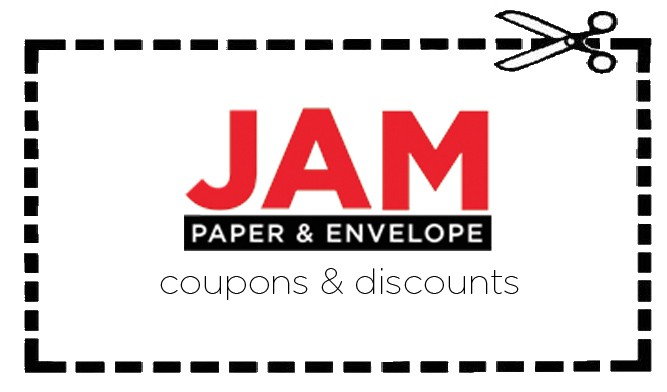 jam paper coupons and discounts