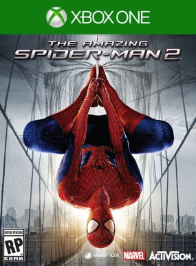 the amazing spiderman 2 xbox one game cover