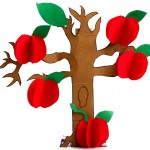 Johnny Appleseed Red Delicious Apple Craft