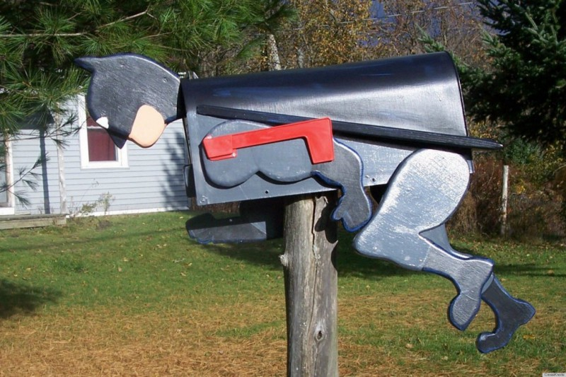 20 Unconventional Mailboxes That Will Blow Your Mind JAM