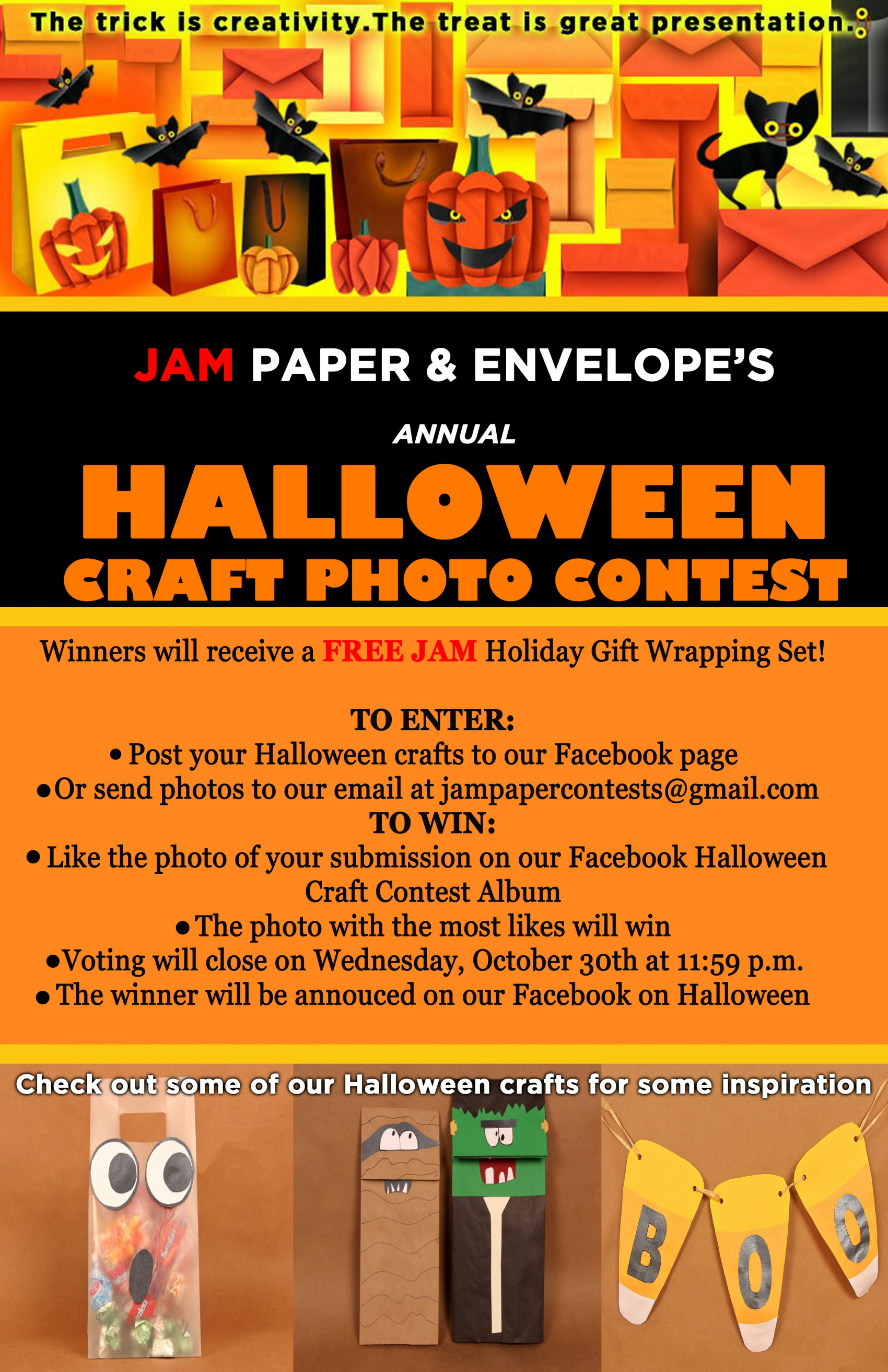 Enter Our Halloween Craft Contest to Win….