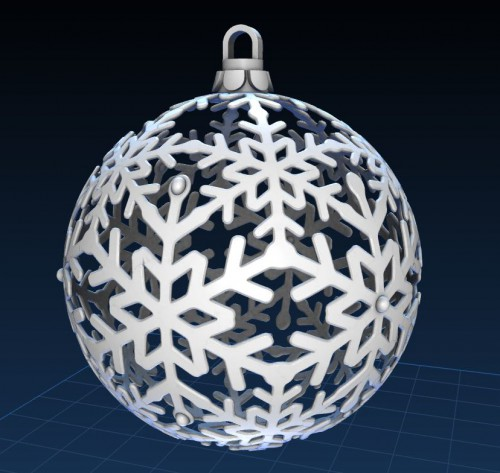 It's just a photo of Satisfactory 3d Print Christmas Ornaments