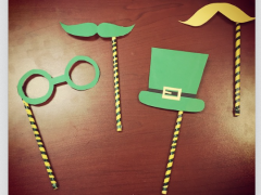 DIY: St Paddy's Day Photo Props