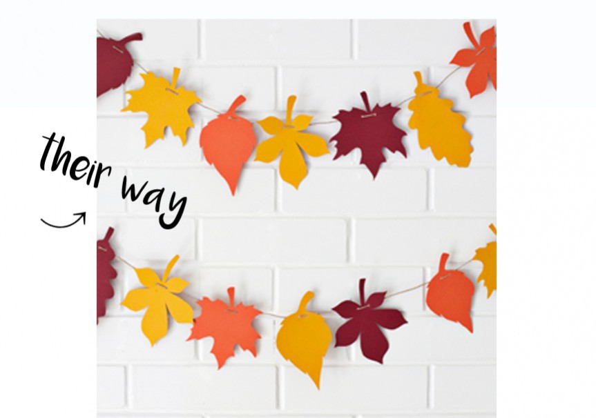 3 Easy DIY Fall Garlands, fall garlands, fall wreaths