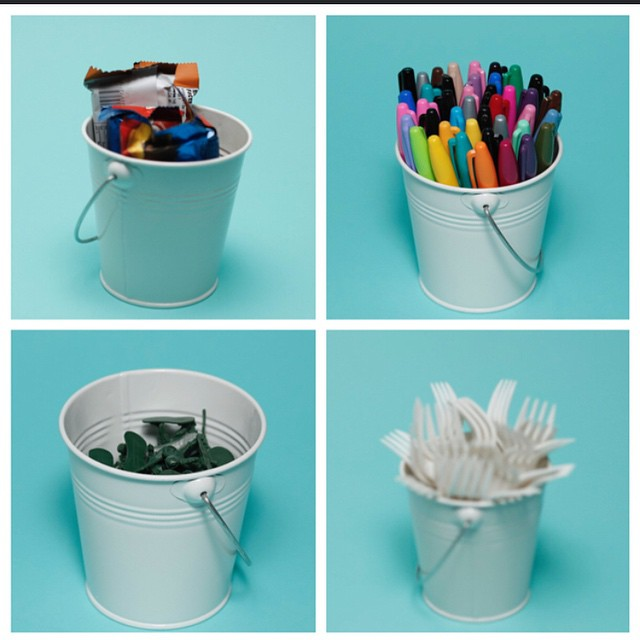 Check out all the uses for our #pail on The Joyful Organizer blog ! #shopping #jampaper #fun #organize #organized #officesupplies #creative #supplies #wednesday