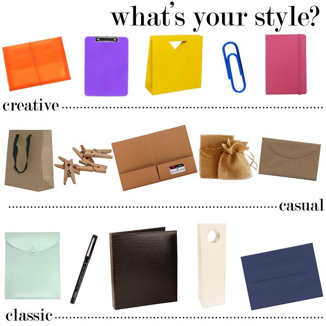Shop your style --> jampaper.com #style #fun #colors #blog #envelopes #paper #folders #officesupplies #trends #kraft #tuesday #casual #classic #creative #styling #fashion #paperclip #notebook #giftbags