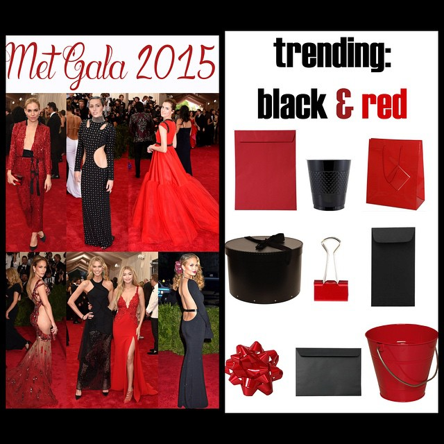 Who was your favorite on the #redcarpet last night ? #red #black #metgala #fashion #trends shop for red and back supplies here: jampaper.com #china #fashion #colors #trends