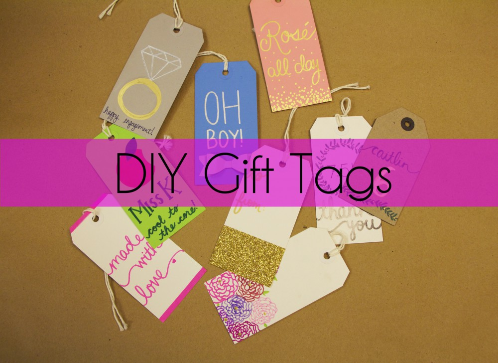 9 Awesome DIY Gift Tag Ideas!