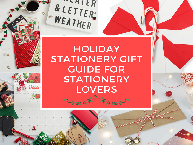 Holiday Stationery Gift Guide for Stationery Lovers