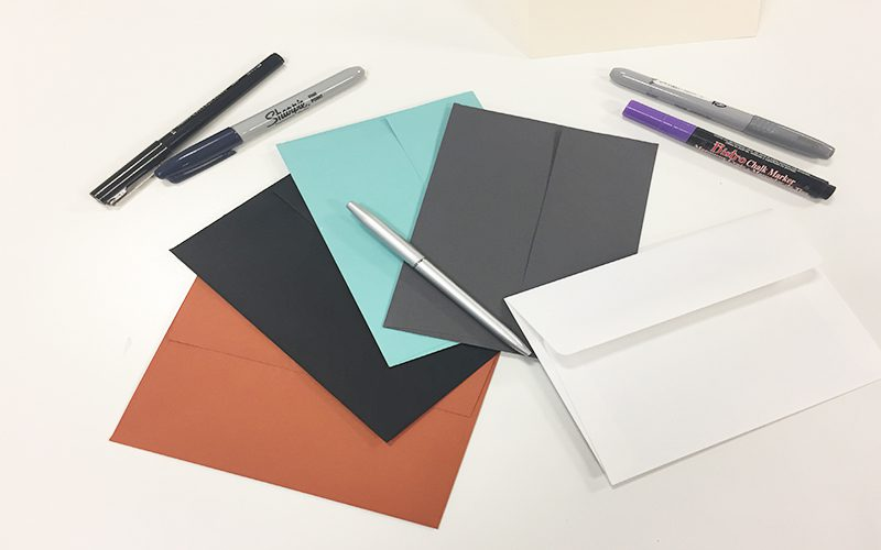 5 Reasons to Write and Send Letters, Envelopes, Pens, Paper, Colors