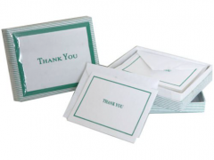 On a Personal Note: Writing a Thank You Card