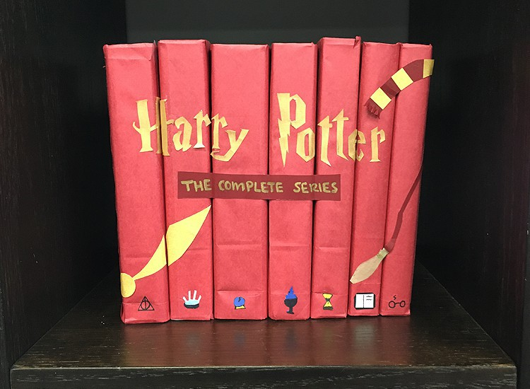 Diy Book Cover Step By Step ~ Harry potter diy book covers jam