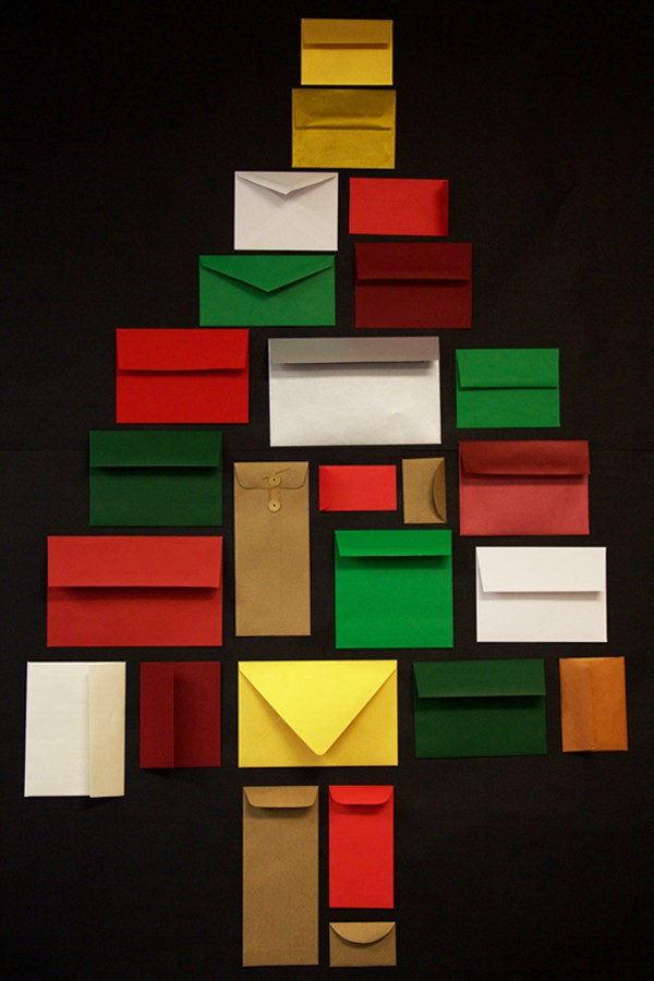 This Simple Yet Sweet Advent Calendar Can Make Any Office Or Home A Little More Festive And A Lot More Fun Any Of Our Envelopes Would Do The Trick
