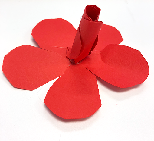 how to make paper roses, flowers, red flowers, paper crafts