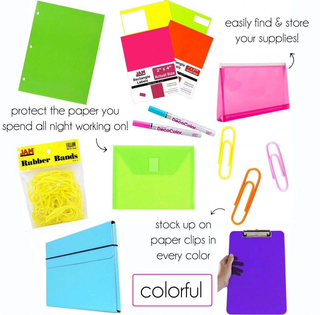 Back to Cool: School Supplies in Style