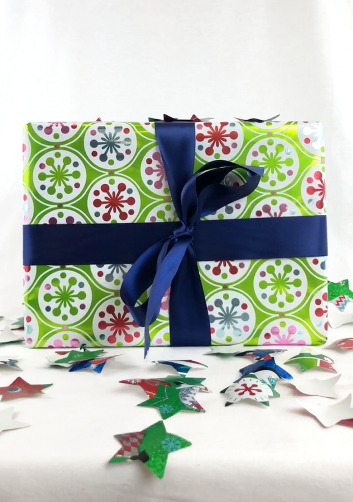 gift wrap, leftover gift wrap, wrapping paper