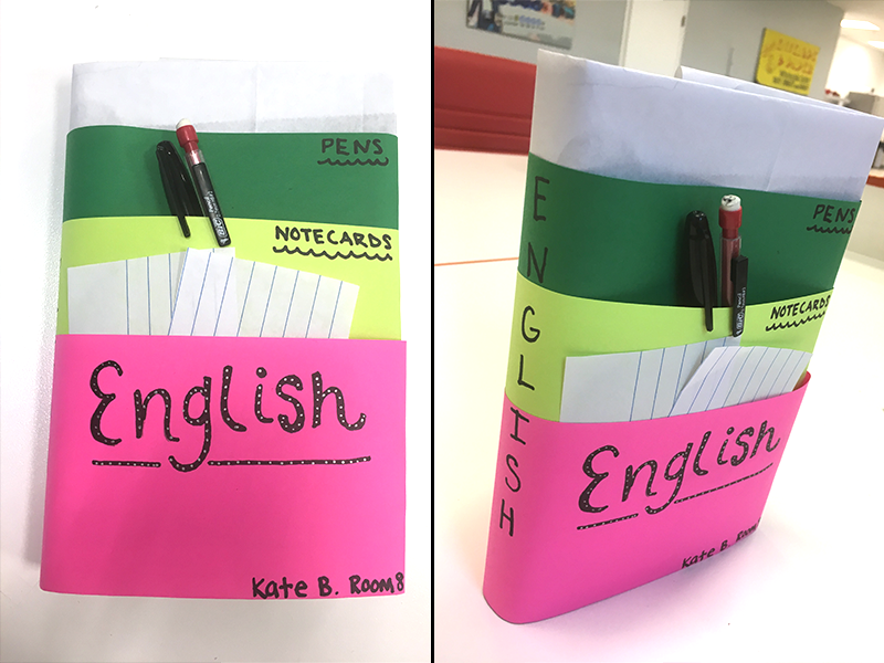 Cool School Book Cover Ideas : Back to school diy textbook covers jam
