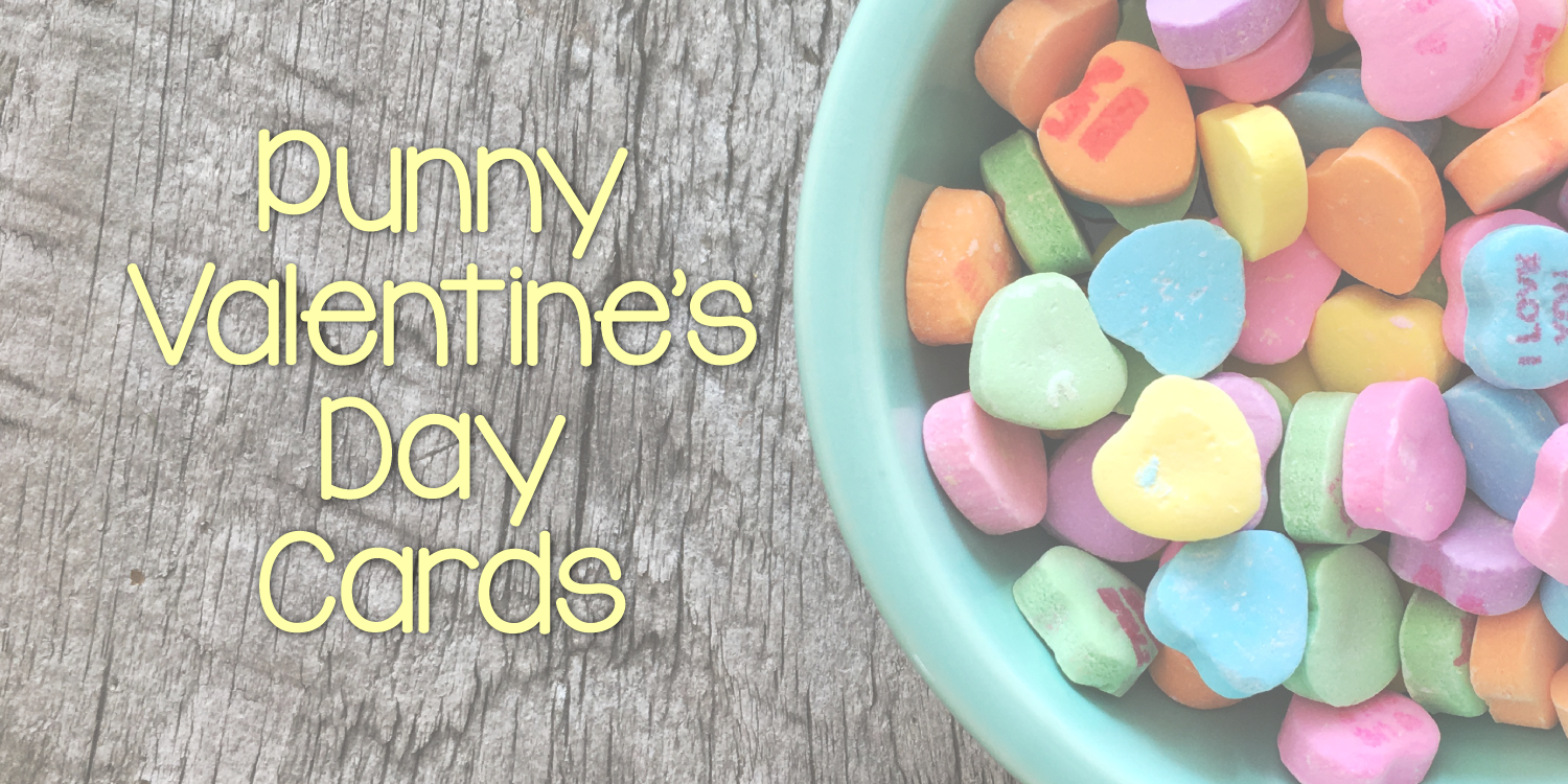 Punny Valentine's Day Cards