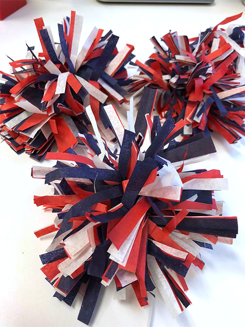 Hang Them On A String To Use As Garland Or Place Tables Walls And Wreaths For An Extra Touch Of Red White Blue Hy Birthday America