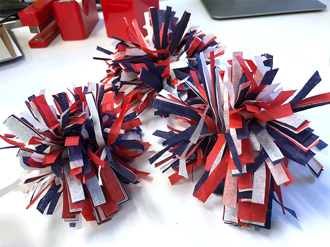 tissue paper fireworks, fourth of july craft, 4th of july fireworks