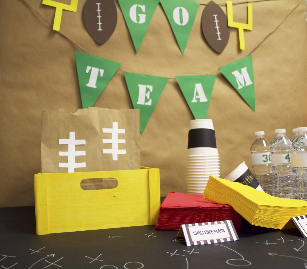 Get Game Day Ready! Football Party Ideas