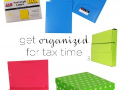 How to Organize Your Taxes