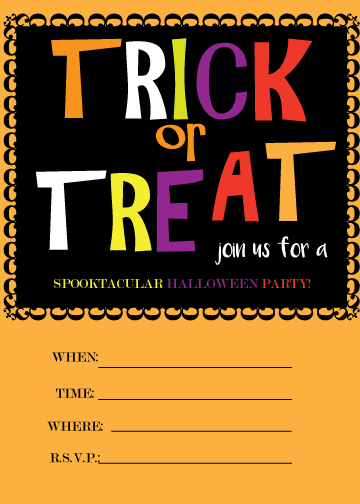 free printable halloween invites and cards jam blog