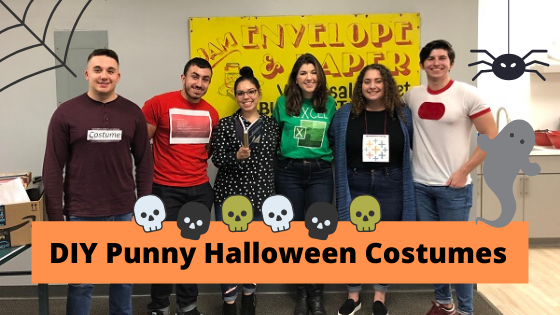 DIY Costumes: A Punny Halloween at JAM Paper