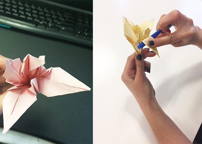 How To Make Paper Origami Easter Lilies, fold, paper, flower, petals, folding, lily
