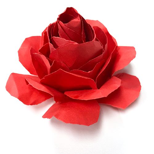 how to make paper roses, paper craft, roses
