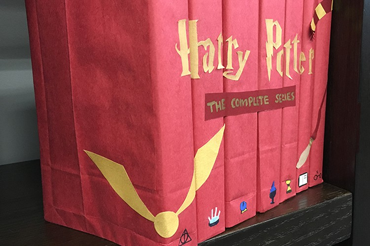 Harry Potter Book Cover Diy : Harry potter diy book covers jam