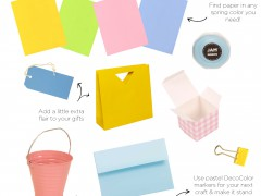 Colorful Products for Spring