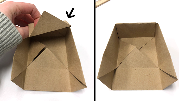 Make paper bag without glue