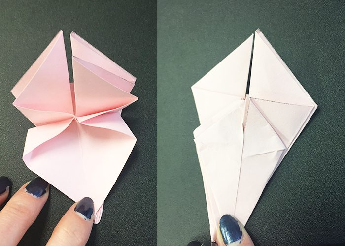 How To Make Paper Origami Easter Lilies Jam Paper