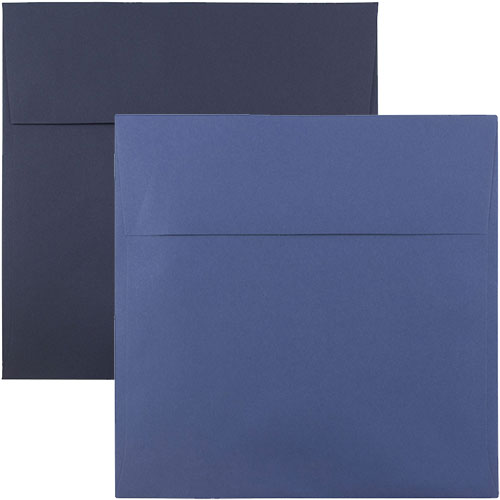 Blue Square Envelopes