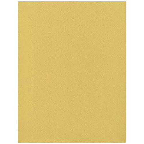 Straw Yellow Recycled Passport Envelopes & Paper