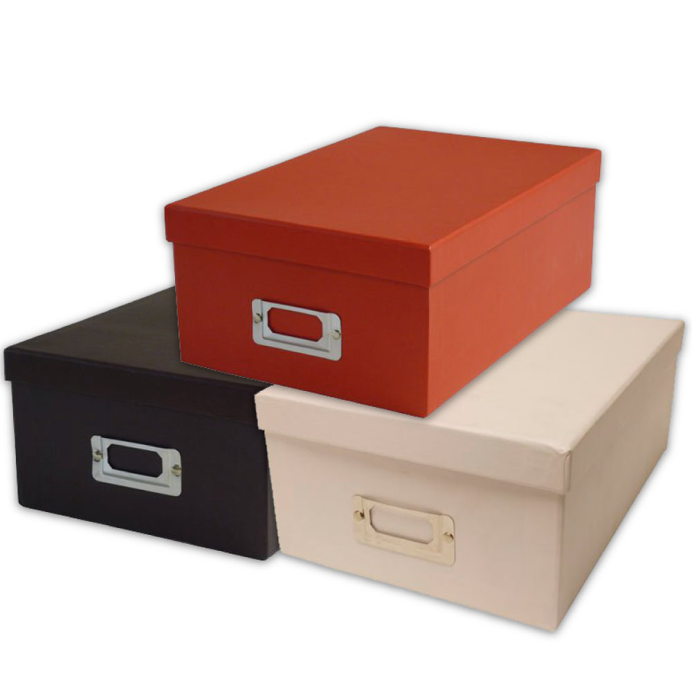 Heavy Duty Boxes with Shoebox Style Lids