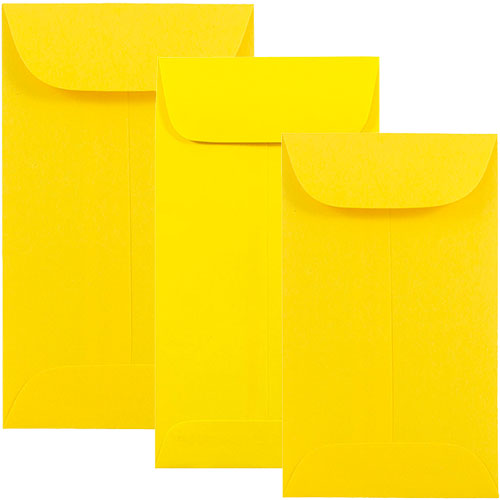 Yellow Policy Envelopes